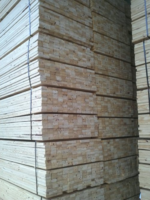 SYP Lumber in Warehouse