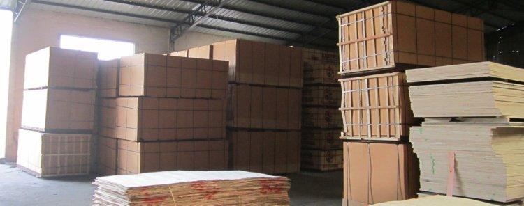 Chinese Plywood Factory